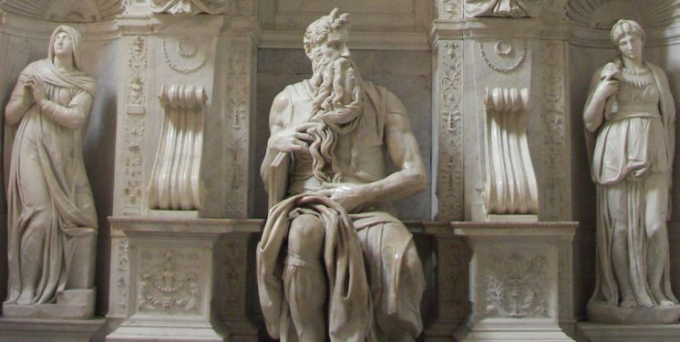 The great beauty: the emotion of the Michelangelo's Moses