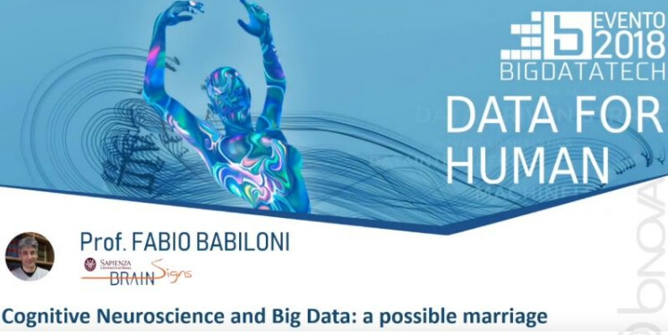 BIG DATA TECH 2018  Data for human - Appointment in Milan on 25 October